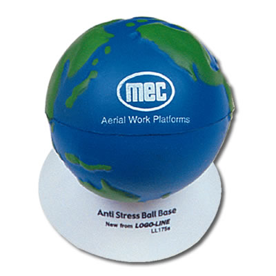 Anti Stress 2 Colour World Globe