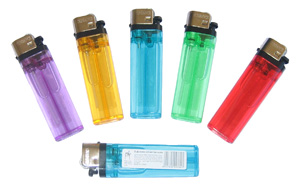 Assorted Disposable Lighters