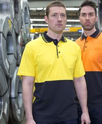 JB's Hi Vis Cotton Polo Shirt - Short Sleeve