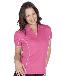 Podium Ladies Piping Polo Shirt