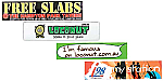 Gloss Paper Sticker - 50 x 210mm