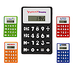 Small Rubbery Flexible Calculator - Clearance