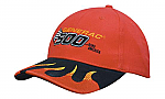 Brushed Heavy Cotton Cap with Peak Flames