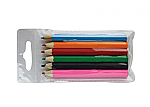 6 Pencils in PVC Pack