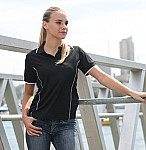 Stitch Feature Essentials - Ladies Short Sleeve Polo Shirt