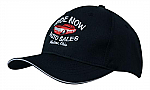 Breathable Poly Twill Cap with Sandwich Trim