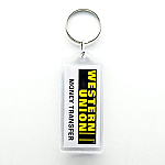 Acrylic Key Ring - Rectangle