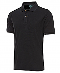 COC Ottoman Polo Shirt - Black