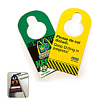 Door Hangers - 2 sided print
