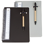 Notebook with Pen & Scale Ruler - A5
