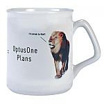 A'Flare Coffee Mug - White