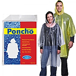 Reusable Poncho in Poly Bag
