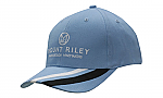 Brushed Heavy Cotton Cap with Fabric Stripes on Peak