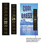 Thermometer Strip - 63mm