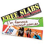 Gloss Paper Sticker - 75 x 210mm