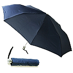 Aluminium Unisex Umbrella - Black & Navy