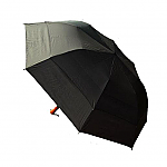 Golf Size Twin Canopy Folding Umbrella