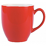 Broadway Coffee Mug - Red/White