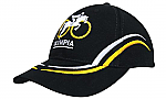 BHC Cap with Curved Embroidery on Crown & Peak