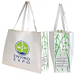 Giant Bamboo Carry Bag with Double Handles