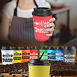 Aroma Double Wall Coffee Cup - 350ml - Add Eclairs for $1