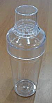 Acrylic Cocktail Shaker with Nip Glass