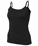 COC Ladies Spaghetti Top - Black
