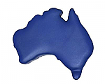 Anti Stress Australia Map - Blue