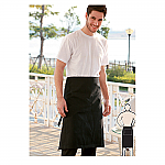 Cotton Drill Three Quarter Apron - No Pocket