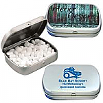 Sugar Free Mints in Silver Tins