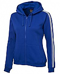 Podium Ladies P/C Dual Stripe Full Zip Hoodie - On Sale until 31/10/17